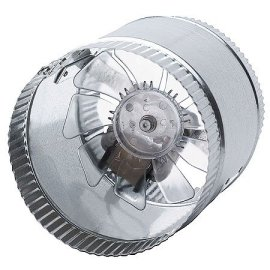 6-Inch 110VAC 250 CFM In-Line Duct Fan
