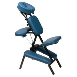 Master Massage Professional Portable Chair with Deluxe Carrying Case with Wheels