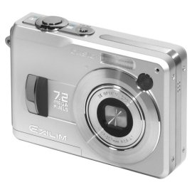 Casio Exilim EX-Z120 7.2MP Digital Camera with 3x Anti Shake Optical Zoom
