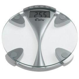 Weight Watchers WW43 Memory Glass Electronic Scale