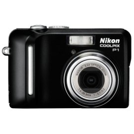Nikon Coolpix P1 8MP Digital Camera with 3.5x Optical Zoom (Wifi Capable)