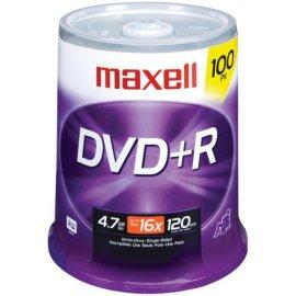 Maxell DVD+R 100 PK ( 634056 )