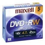 DVD+R 4.7 GB 5 PK