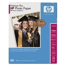 HP Premium Plus Photo Paper - paper - 25 pcs. ( Q6569A )