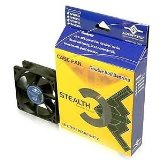 Vantec Stealth 80mm Cooling Fan with Double Ball Bearing - Silent