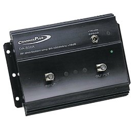 ChannelPlus DA-500A Compatible 18 dB RF Amplifier