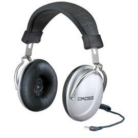 KOSS TD85 Home Stereophones - Black/Silver
