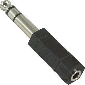 HOSA STEREO 3.5 mm (F) - STEREO 1/4 PHONE (M)