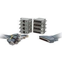 Cisco Systems 8 Lead Octal Cable and 8 Male D DB-25 Modem Connectors