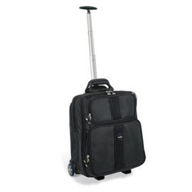 Kensington Contour Overnight Roller Suitcase and Notebook Carrying Case (62903)