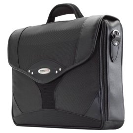 MobileEdge Select Briefcase MEBCS1 - Charcoal/Black