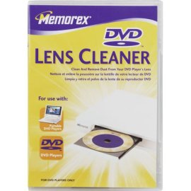 Memorex LASER LENS CLEANER FOR DVD ( 32028015 )