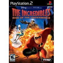 PS2 The Incredibles 2: Rise of the Underminer