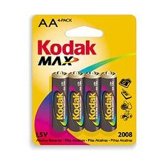 Kodak Xtralife AA Battery(Kaa-4) Twelve (4) Packs = 48 Batteries