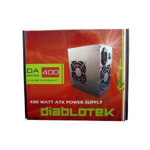 Diablo / 400-Watt / ATX / Dual 80mm Fan / 24-Pin / SATA Ready / Power Supply