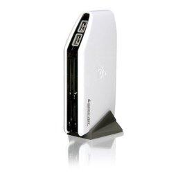 Iogear GUH284R USB 2.0 Hub & 12-in-4 Card Reader