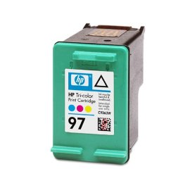 HP No. 97 Tri-Color Ink Cartridge (C9363W)