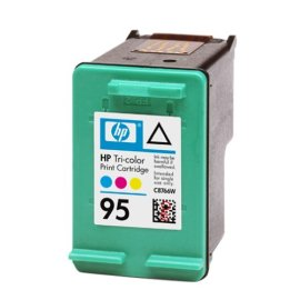 HP No. 95 Tri-Color Ink Cartridge (C8766W)