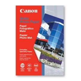 Canon Matte Photo Paper (MP101, 4x6, 120 Sheets)