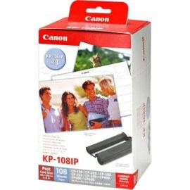 Canon KP108IP Color Ink & Paper Set