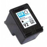HP 92 Black Inkjet Print Cartridge (C9362WN)