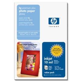HP Premium Plus Photo Paper, Glossy (Q1978A, 4x6, 60 Sheets)