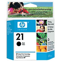 HP 21 Black Inkjet Print Cartridge (C9351AN)