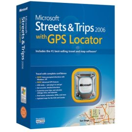 Microsoft Street and Trips 2006 with GPS locator