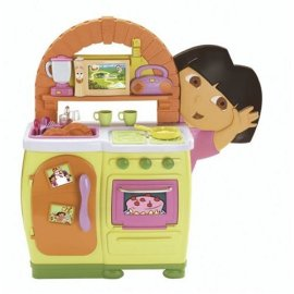 Dora The Explorer: Dora's Talking Kitchen with 5 Recipe Adventure Maps and 44 Talking Phrases