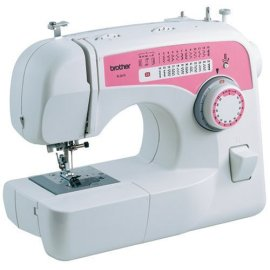 Brother XL2610 59 Stitch Function Free Arm Sewing Machine - White