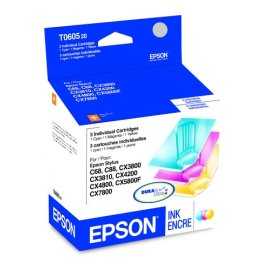 Epson Color Multi-pack Ink Cartridges (TO60520)