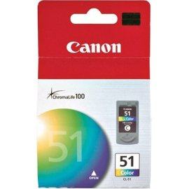 Canon CL-51 High-Capacity Color FINE Ink Cartridge