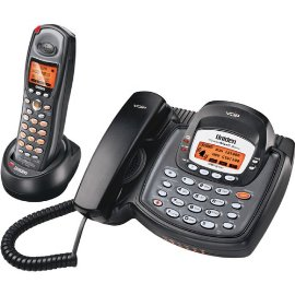 Uniden UIP1868P 5.8 GHz DSS Expandable Cordless Phone with Whole-House VoIP System and Corded Base