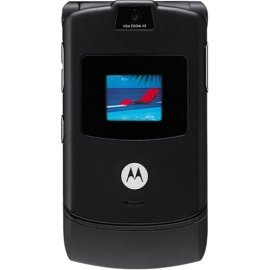 Motorola RAZR V3 Black Phone (Unlocked)