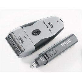 Wahl 7367-500 Custom Shave System Multi-Head Shaver with Bonus Personal Trimmer