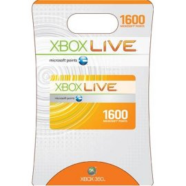 Xbox Live Points (1,600)