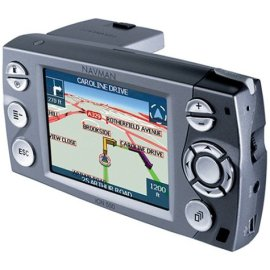 Navman iCN 550 In Car Navigation GPS with 4GB Hard Drive Pre-Loaded Maps and Remote Control