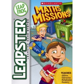 Leapster Game Scholastic: Math Missions