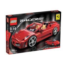 LEGO Racers Ferrari 430 Spider 1:17 (8671)