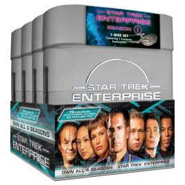 Star Trek Enterprise - The Complete Series (Seasons 1-4)