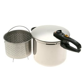 Fagor Duo  10 Qt Pressure Cooker/Canner - stainless steel