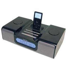iHome iH5 Clock Radio for iPod Black