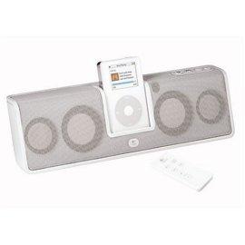 Logitech mm50 Portable Speakers for iPod (White)