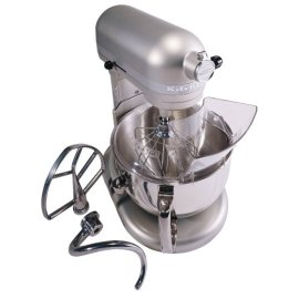 KitchenAid KP26M1XNP Professional 600 Series 6-Quart Stand Mixer, Nickel - Nickel Pearl