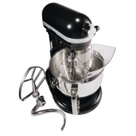 KitchenAid KP26M1XLC Professional 600 Series 6-Quart Stand Mixer, Licorice
