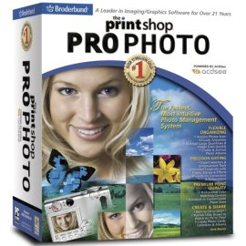 Broderbund Print Shop 21 Pro Photo