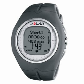 Polar F11 Heart Rate Monitor Watch (Grey Pepper)