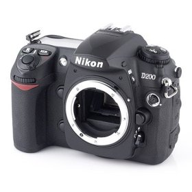 Nikon D200 10.2MP Digital SLR Camera (Body Only)