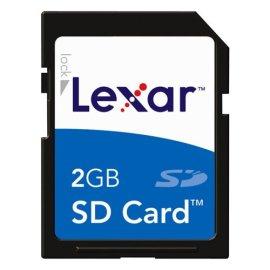 Lexar Media SD2GB-231 2 GB Secure Digital Memory Card
