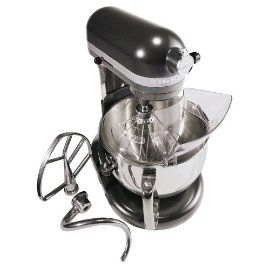 KitchenAid KP26M1XDP Professional 600 Series 6-Quart Stand Mixer, Dark Pewter